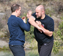 James Freeman and Iain Abernethy Bunkai Drill 2