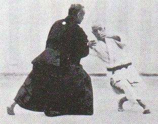 Jigoro Kano y Yoshiaki Yamashita